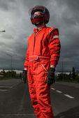 Formula one driver — Stock Photo