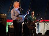 Louth,Ireland,May 4th 2014,Dublin City Ramblers perform live at Vantastival,Bellurgan Park,County Louth on May 4th 2014 in Louth,Ireland — Stock Photo