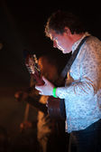 Louth,Ireland,May 4th 2014,John Spillane and his band perform live at Vantastival,Bellurgan Park,County Louth on May 4th 2014 in Louth,Ireland — Stock Photo
