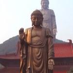 Big Double Buddha of China — Stockfoto