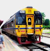 Antiguo ferrocarril tailandés forma — Foto de Stock