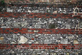 Stone and brick background — Foto Stock