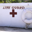 Life saving station — Stock Photo