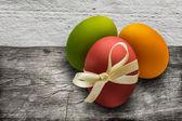 Fundo de ovos de páscoa — Fotografia Stock