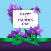 Happy Father's Day greeting — Foto de Stock