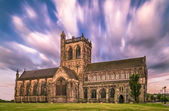 Clouds over an Abbey — Stock Photo