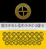 Monogram Design with letter Z — Stockvektor