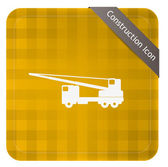 Mobile Crane — Stock Vector
