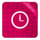 Clock ( Travel Icon ) — Vetor de Stock