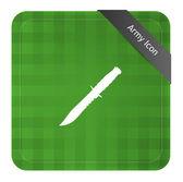 Army knife — Stock Vector