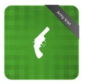 Pistol — Stock Vector