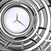 Abstrakt klocka — Stockvektor