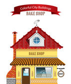 Bake Shop — Stock Vector