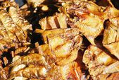 Dried fish is Thai food — Stock Photo