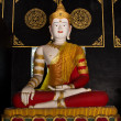Buddha statue in temple 1 — Stock Photo