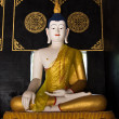Buddha statue in temple 2 — Stock Photo