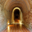 Tunnel in temple 2 — Stock Photo