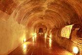 Tunel w świątyni — Zdjęcie stockowe