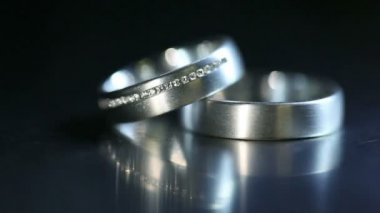 Wedding Rings — Stock Video
