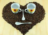 Smiley of coffee — Stockfoto