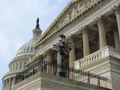 US Capitol Building exterior, Washington DC — Stock Photo