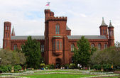 Smithsonian institution Castle, Washington DC, USA — Stock Photo