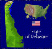 Delaware, USA hi res aerial view — Foto de Stock