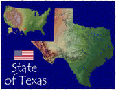 Texas, USA hi res aerial view — Foto de Stock