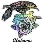 Alabama State bird — Stock Photo