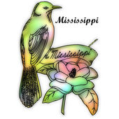Mississippi State bird — Stock Photo