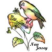 New Jersey State bird — Stock Photo