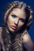 Magnificent hair — Stock Photo