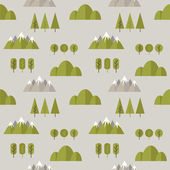 Seamless pattern hike. — Vector de stock