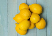 Organic Lemons — Stock Photo