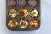 Baking Paleo Muffins — Stock Photo