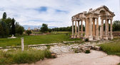 Ruins of afrodisias Tetrapylon — Stock Photo