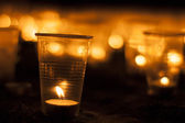Candle group — Stock Photo