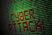 Siber saldırı — Stok fotoğraf