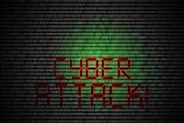Cyber attack — Stock Photo