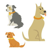 Cartoon Dogs — Stock Photo