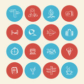 ícones de doodle de verão — Vetorial Stock