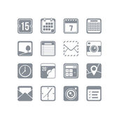 Useful icon set — Stock Vector