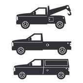 Truck Illustration — Stock Vector