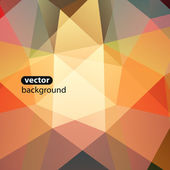 Abstract Green Triangle Background, Vector Illustration Eps10 — Vecteur