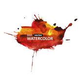 Blot vector watercolor colorful-01 — Stock Vector