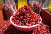Goji berries at a market in Korea — Stock Photo