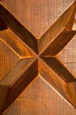 Wooden background pattern elements of decorative finishing — Stock Photo