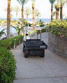 A working car in the hotel Egypt — ストック写真