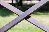 Cruz de madera — Foto de Stock