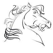 Ilustracja koń — Wektor stockowy